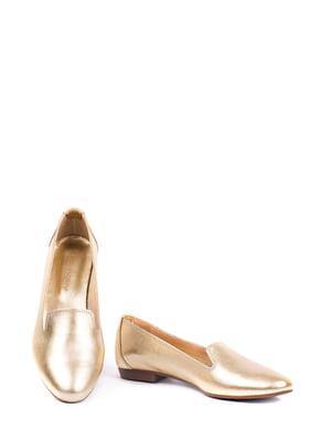 Туфли золотистые | 5345861