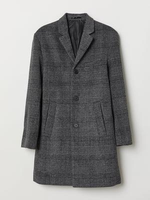 Пальто темно-сіре | 5345998