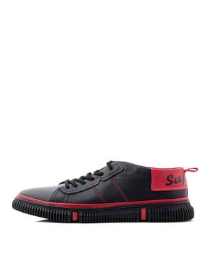 Туфлі чорно-червоні | 5346049