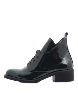 Ботинки темно-зеленые   5346083