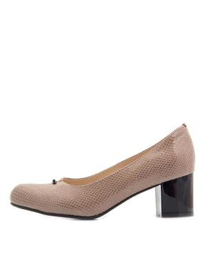 Туфлі бежеві | 5346100