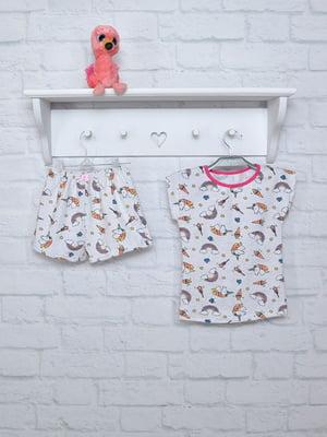 Піжама: футболка та шорти | 5346417