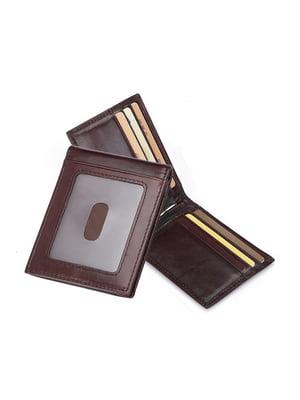 Затискач для купюр коричневий | 5346551