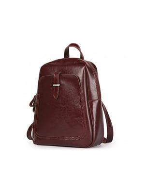 Рюкзак бордовий | 5346868