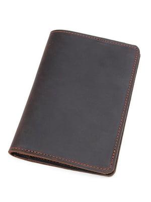 Обкладинка для паспорта коричнева | 5347108
