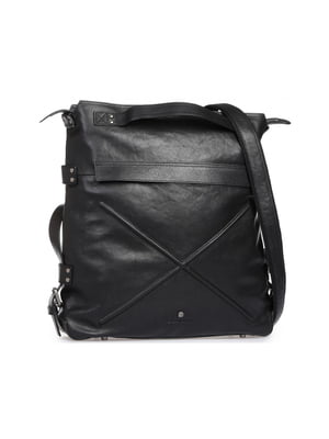 Сумка-рюкзак черная | 5347125