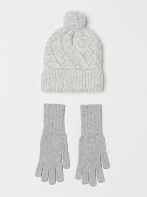 Набор: шапка и перчатки | 5347534