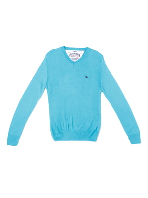 Пуловер голубой | 5327032