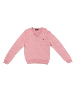 Пуловер розовый | 5327031