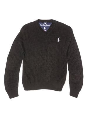 Пуловер черный | 5327034