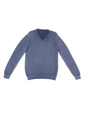 Пуловер цвета джинс | 5327025
