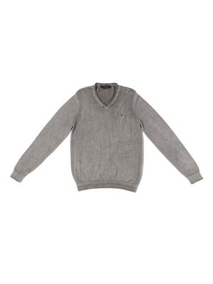 Пуловер сірий | 5327026