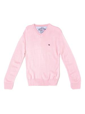 Пуловер светло-розовый | 5327033