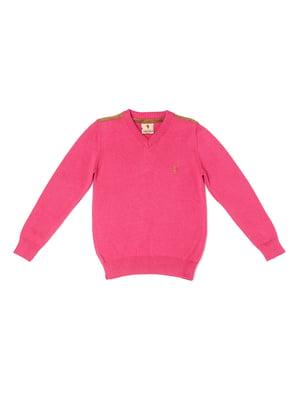Пуловер розовый | 5327019