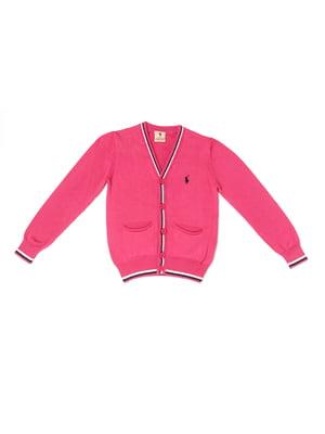 Кардиган розовый | 5327018