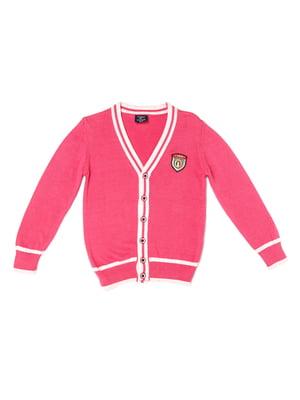 Кардиган розовый | 5327020