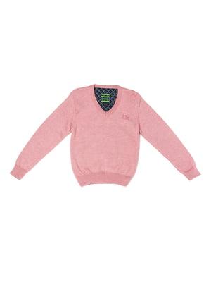 Пуловер розовый | 5327028