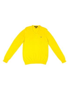 Пуловер желтый | 5327023