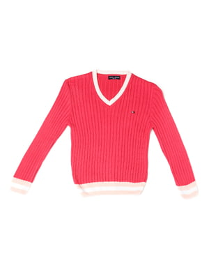 Пуловер кораллового цвета | 5327022