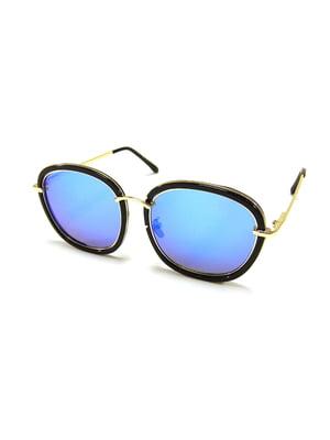Окуляри сонцезахисні блакитні | 5348219