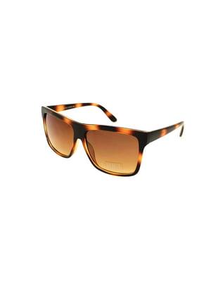 Окуляри сонцезахисні коричневі | 5348287