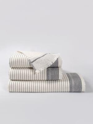 Полотенце белое (90х150 см) | 5342989
