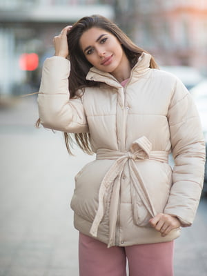 Куртка бежевая - Lipinskaya Brand - 5348305