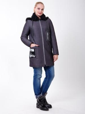 Пальто графитового цвета | 5347990