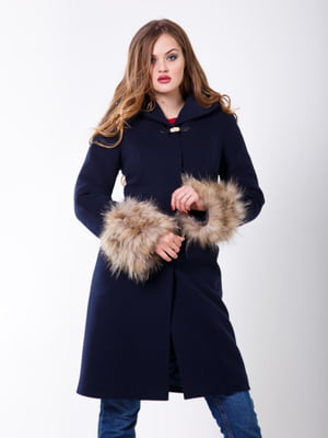 Пальто темно-синее | 5348007