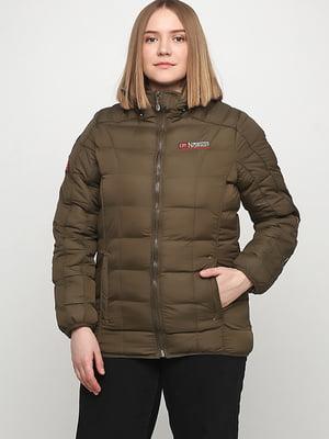 Куртка цвета хаки | 5348324