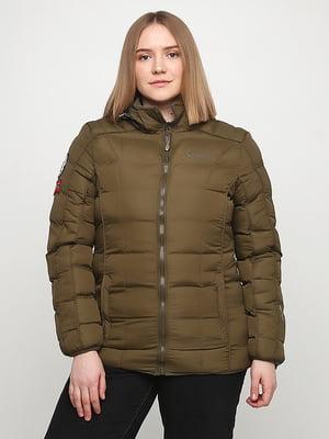 Куртка цвета хаки | 5348325