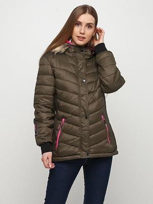 Куртка цвета хаки | 5348337