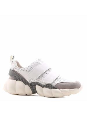 Кроссовки бело-серые | 5348402