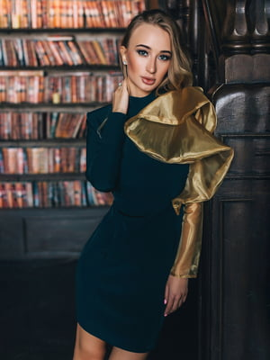Платье зеленое - Lipinskaya Brand - 5348495