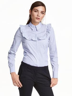 Блуза голубая   5348723