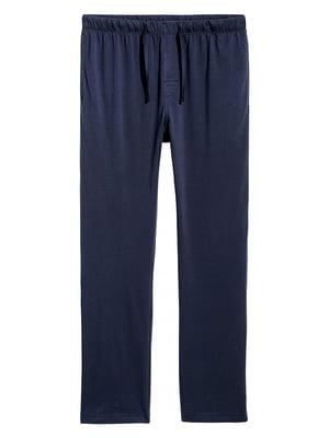 Брюки пижамные синие   5348762