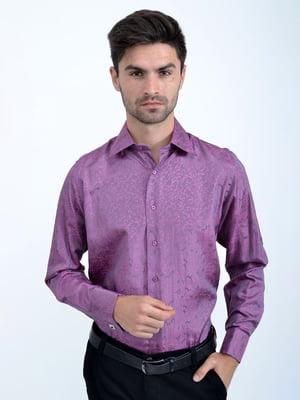 Рубашка сиреневая | 5276441