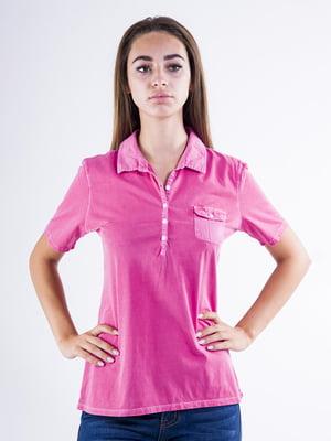 Футболка-поло розовая | 5299229