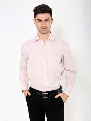 Рубашка кофейного цвета | 5306366