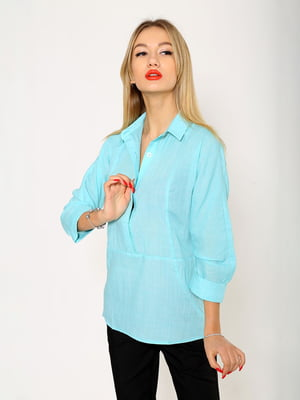 Рубашка мятного цвета | 5337700