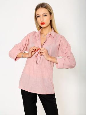Рубашка персикового цвета | 5337701