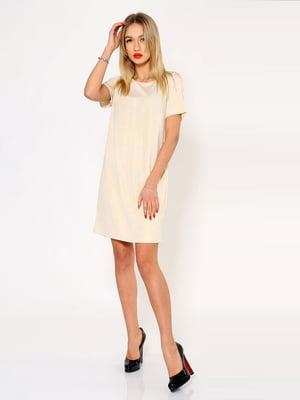 Платье бежевое | 5337767