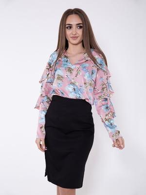 Блуза цвета пудры | 5349029
