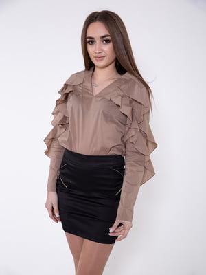 Блуза коричневая | 5349031