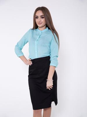 Блуза ментолового цвета | 5349044