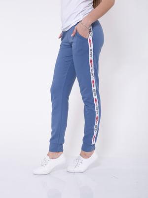 Штани спортивні сині | 5349228