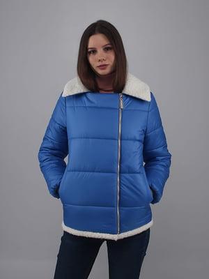 Куртка кольору аквамарин | 5349524