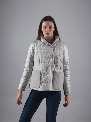 Куртка сіра | 5349531