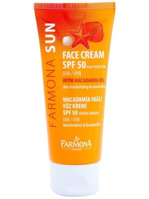 Солнцезащитный крем для лица обезжиренный (50 мл) | 5349473