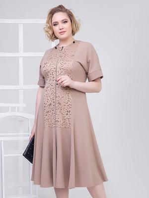 Платье цвета мокко | 5349533
